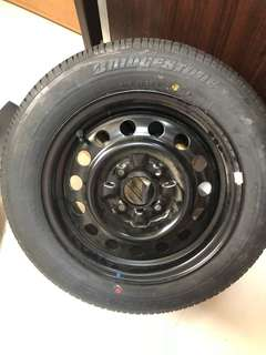 Spare Rim and tyre cs3