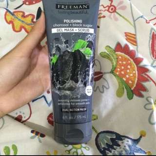 FREEMAN CHARCOAL & BLACK SUGAR MASK