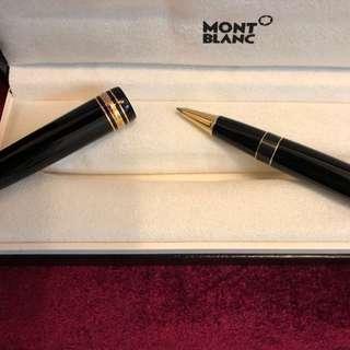 全新 Mont Blanc 筆 (連盒未用) Meisterstück Gold-Coated LeGrand Rollerball 11402