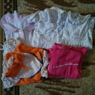 Baju anak perempuan 6m sd 1th