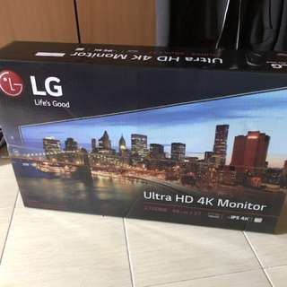 "LG 27UD68 27"" IPS LED Ultra HD 4K FreeSync Monitor"