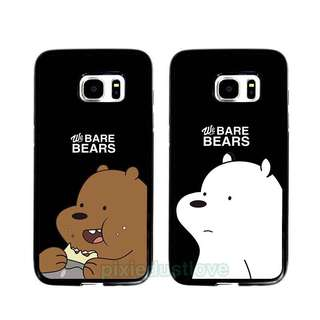 we bear bear grizzly bear and ice bear phone casing [ Samsung ]