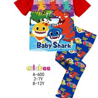 KIDS PYJAMAS, SHARK DOO DOO