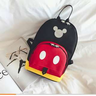 (Ready Stock) Mickey Mouse Backpack