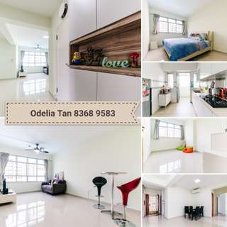 "** New Listing ** Young Resale Corner unit ""4 Room HDB"" #MinimallyDesign"