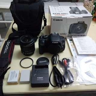 Canon EOS 600D+All