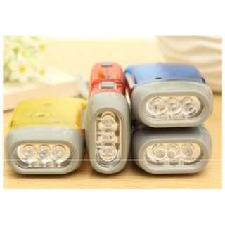 senter  LED tanpa baterai bisa charge + gerak tangan HAP003