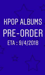 Pre-order KPOP Albums / Season's Greetings Any Group