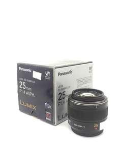 Panasonic Lumix Leica DG Summilux 25mm F1.4 ASPH