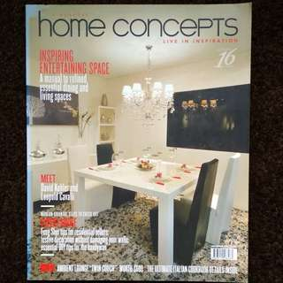 Home Concepts - Live In Inspiration December 2011 Issue