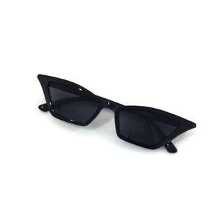 Black Cat Eye acrylic Sunnies trendy