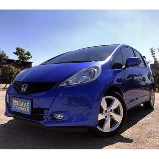 2013年 本田 FIT頂級  1.5L 藍色 安全性極高~ 超優質車況 可認證車種 正一手車 絕無事故~