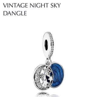 🆕Pandora Vintage Night Sky Dangle