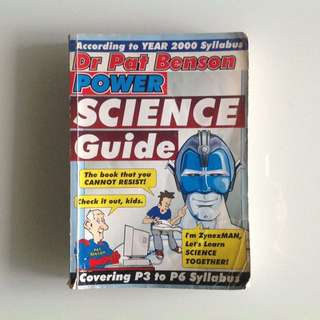Dr Pat Benson Power Science Guide