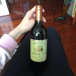 大量 Nueve - Dos dry 西班牙紅酒