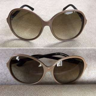 Tom Ford TF215 2-Tone Dark Gradient Brown Sunglasses