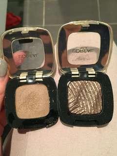 L'Oréal eyeshadows