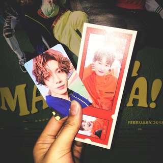 WTT SF9 Mamma Mia! Photocard and photo ticket