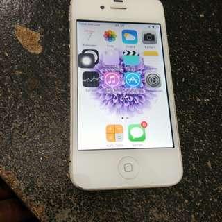 Iphone 4S 16gb ex international mulus batangan ios9 aman