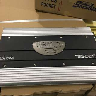 Impact LK 654 Car Amplifier