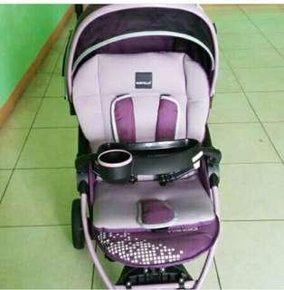 Babyelle tango purple stroller