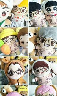 EXO AUTHENTIC DOLLS CLEARANCE