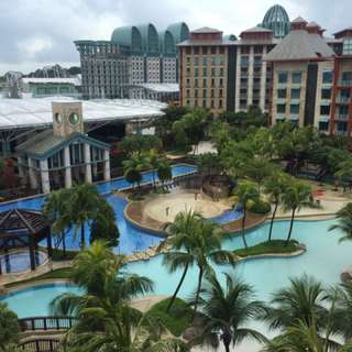 RWS Hotel ( April , pm to check for dates & hotels )