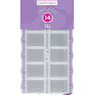 Craftmates Lockables 14 Compartment Organizer