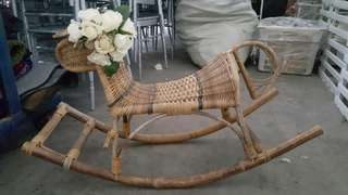 Rental: Rattan Rocking Chair