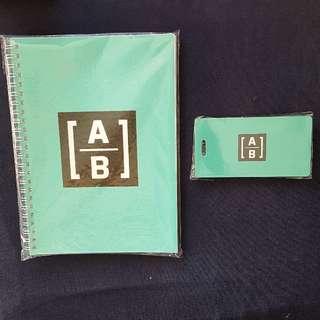 [A|B] 記事簿+行李吊牌套裝