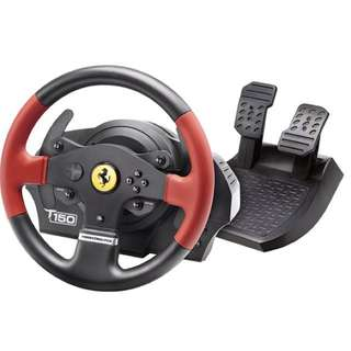 T150 Ferrari Wheel Force Feedback for Rent