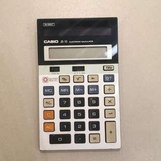 Casio 懷舊 計數機 計算機 太陽能