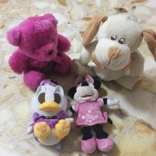 BN/preloved soft toys bundle