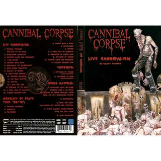 Cannibal Corpse - Live Cannibalism Ultimate Edition DVD