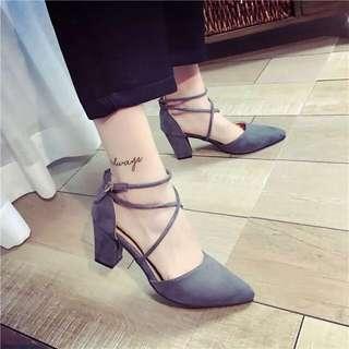 ♥️特價包郵♥️新款涼鞋女歐美魚嘴坡跟甜美平底鞋韓版優雅時尚設計理念典華(Size:35-39)