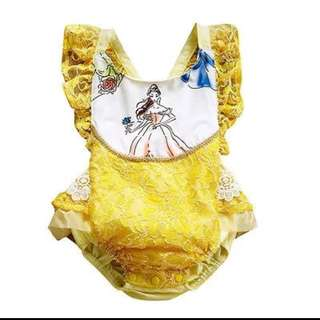 Belle (Beauty and the Beast) Baby Romper
