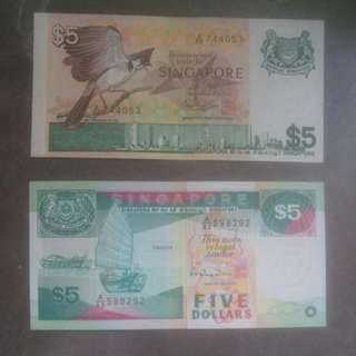 Singapore Banknote
