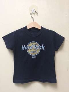 Kaos Hard Rock Bali Size XX Small