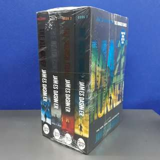 The Maze Runner Series [BRAND NEW and SEALED!!!]