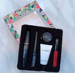 🔥Mac 5in1 Makeup Set       P300 ✅Mascara  ✅Eyeliner  ✅Foundation  ✅Gel liner  ✅Lip Gloss