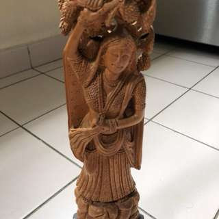 Sandalwood sculpture