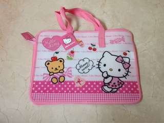 Hello kitty school homework bag