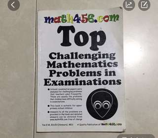 Math 4-6 TOP challenging math problem