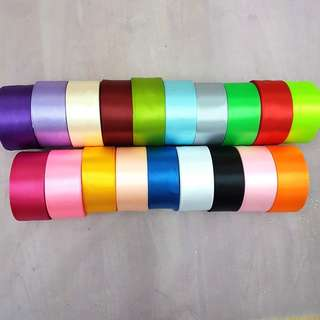 4cm Thick Satin Ribbon