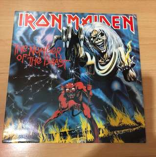 Iron maiden -number of the beast Lp