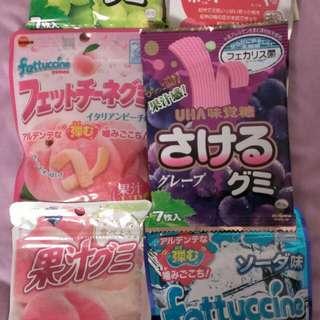🚚 日本軟糖