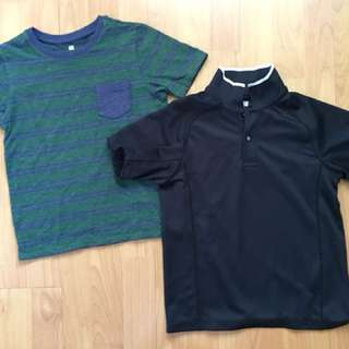 Uniqlo Shirts for Boys (Size 130) P180 for both