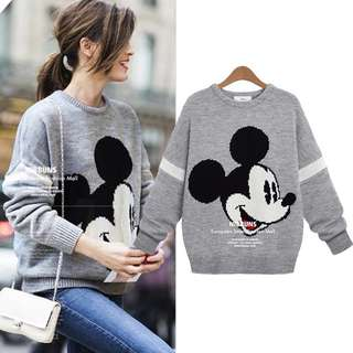 Mickey Mouse Knit Pullover (S-3XL)
