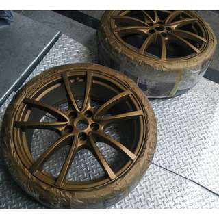 RIM SPRAY PAINTING @  CAR & VAN