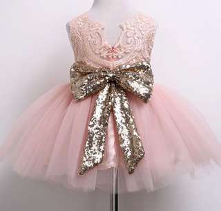 Princess Aisha Tulle Dress in pink